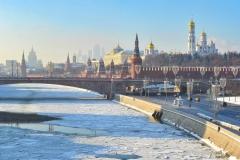 Москва февраль 2