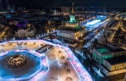 Москва февраль 3