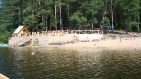 Лесн озера 10 пляж