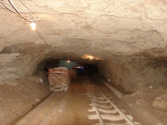 Гипс 10 шахта